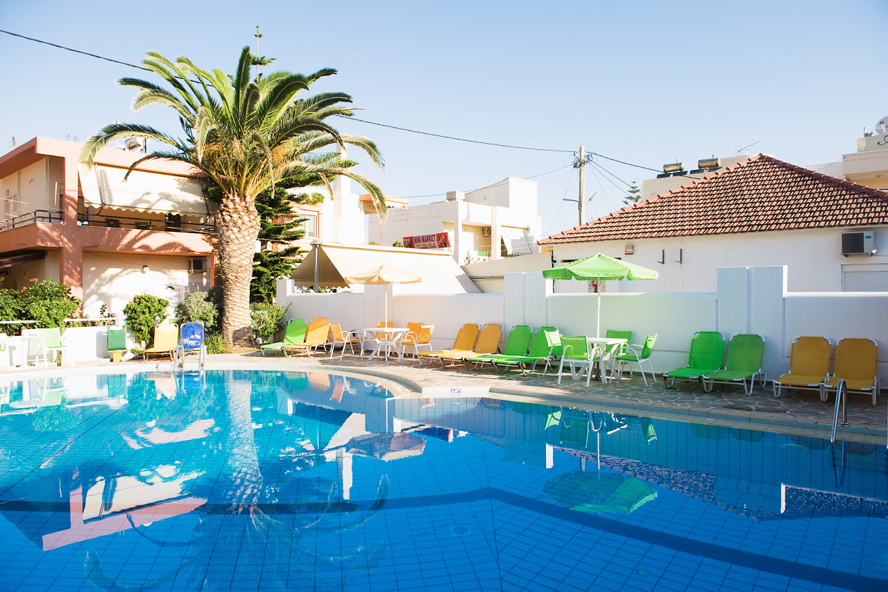 Rita Suites Hotels And Apartments In Platanias Crete Hotel Suites In Chania Swimming Pool
